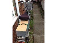 Electric bike, £85