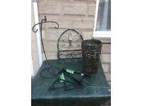 Selection of Wrought Iron Garden Patio Items