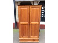 Pine wardrobe + chest of drawers : free Glasgow delivery