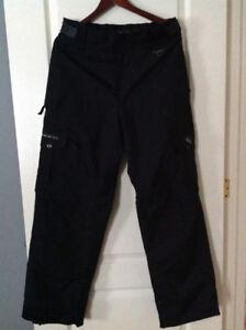Burtons ski jacket and ocean earth ski pants
