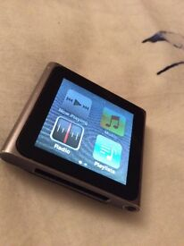 iPod nano 6th generation. 8GB