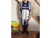 Thor motocross top and Trousers