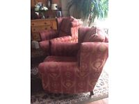 Need to sell - Two wingback chairs