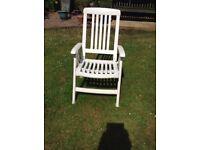 Garden recliner chair
