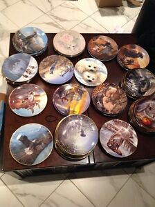 Collectors plates - Bradford exchange LIQUADATE