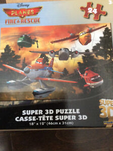 In like new condition Disney planes fire and rescue 3D puzzle