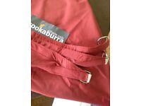 Kookaburra Masala Red 3m triangle Waterproof shade sail