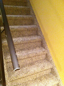 carpet installation and repairs re-stretches and stairs case London Ontario image 2