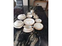 Royal Doulton White Nile Part Dinner/Tea set