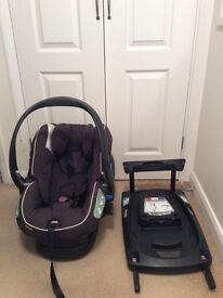 Stokke izi sleep besafe car seat isofix