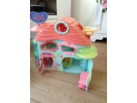 Littlest pet shop large playhouse