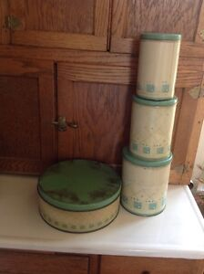 Vintage canister set. Perfect for a country looking kitchen.  Belleville Belleville Area image 2