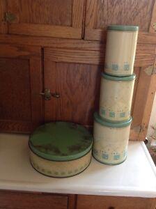 Vintage canister set.  Belleville Belleville Area image 2