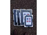 Clip-on Picture Frames for Digital/Art Prints x 5