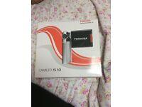 Used few times camileo s10 video camera