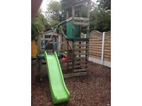 Little tikes Buckingham climbing frame, swings & slide combo