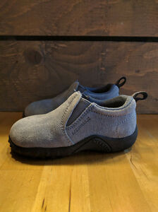Baby Blue Suede Toddler Merrell Shoes (Size 6) Kitchener / Waterloo Kitchener Area image 2