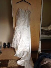 MORI LEE designer wedding dress want it gone ASAP £10