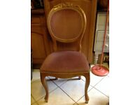 French Louis Dressing Table Bedroom Chair