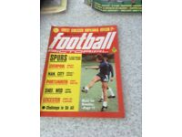 Football magazines from the seventies