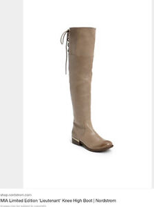 NEW MIA Lieutenant Leather Tan Tall Boot-8 retails at over $300