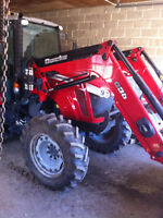 tracteur loader massey new