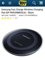 Wireless Charger Qi Charging Pad for Samsung Galaxy S6 / S6 Edge