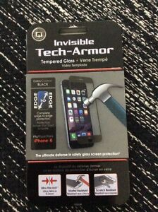 iPhone 6/6s tempered glass screen protector. Brand new. Sealed.  Prince George British Columbia image 1