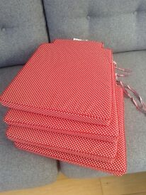 Reversible seat cushions X 4