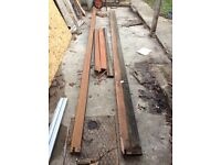 Various Solid hardwood door sill's and timber