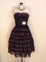Robe de bal ou soirée, BETSY JOHNSON, Small, impeccable, $75