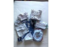 Baby Boy Bundle 0-3m incl 2 x 0-6m Sleeping Bags