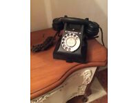 Antique Bakelite telephone