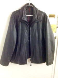 Britches-Brown Jacket out she'll genuine Leather size L