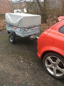 ERDE 122 trailer with high side kit and spare wheel *PRICE REDUCED*