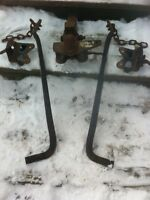 Anti swap bar and hitch