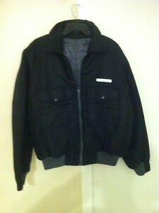 Diesel winter Jacket Reversible. Black & Gray Size M.