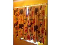 Nursery childrens curtains