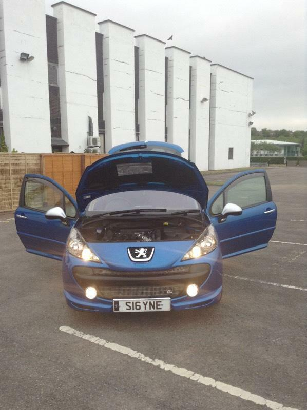 2008 peugeot 207 gti thp 175 f sh only 38k in pontllanfraith caerphilly gumtree. Black Bedroom Furniture Sets. Home Design Ideas