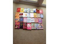 Bargain bundle of 30 girls reading books
