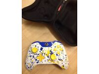 X BOX ONE GAMER MODS CUSTOMISED CONTROLLER WITH CASE