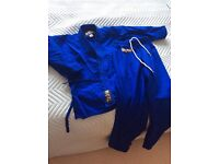 Blue Karate Gi Size 120