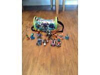 Skylanders 10 , cars 4 and carry case