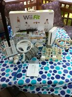 Nintendo Wii and fit system