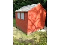 Shed not picked up