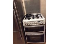 Cooker double oven. Electric/gas. Grill, great condition, perfect working order, cooks really fast.