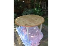Shabby Chic Solid Pine Dining Table