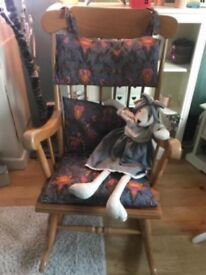 Real wood Rocking Chair