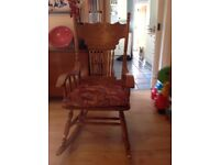 Full size rocking chair