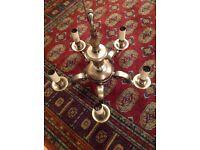 Solid brass chandeliers